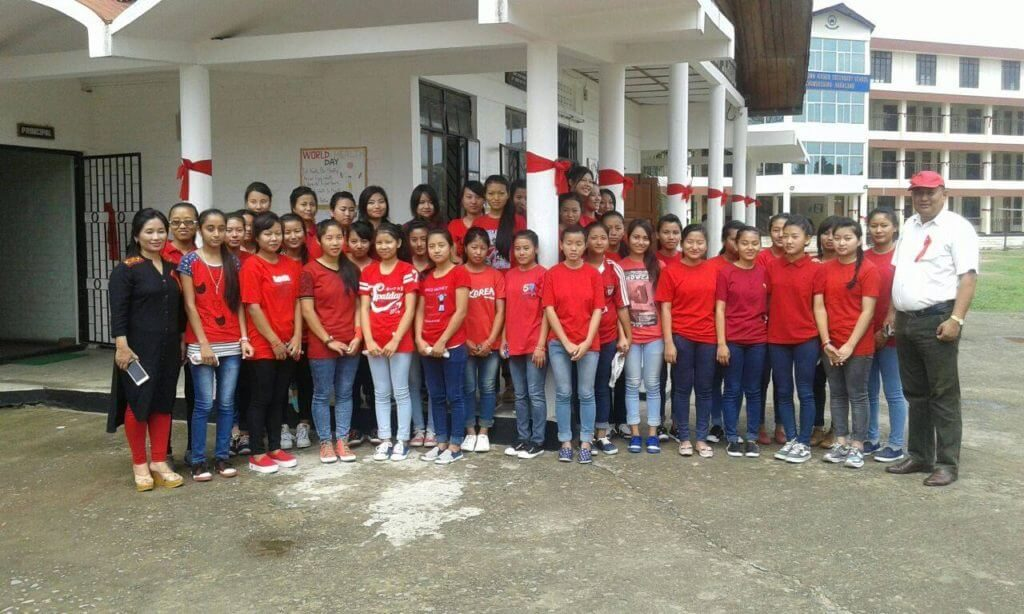 Red ribbon club nthss 2016